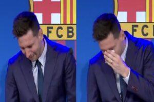 Lionel Messi Emotional