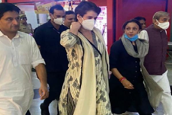 Priyanka Gandhi Arrest